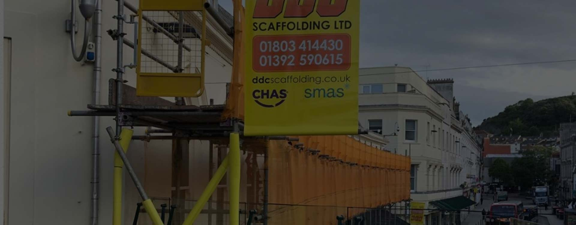 Scaffolding in Exeter