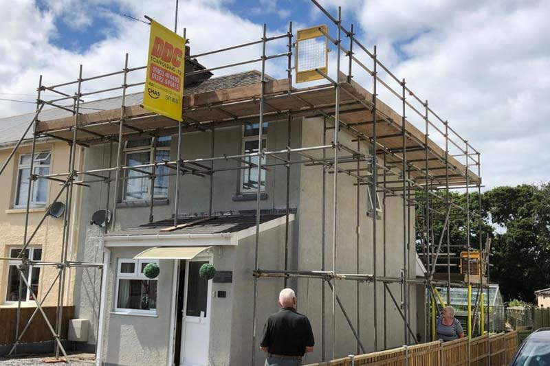 Domestic & Commercial Scaffolding Torbay